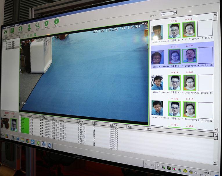 Интеллегентная система анализа видеокамерного лиц в реальном маштабе времени